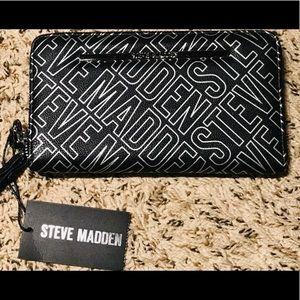 Steve Madden Women's Zip Around Wallet